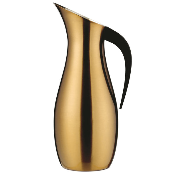 Nuance Penguin 1.7ltr Water Pitcher - Brass - Modern Appliances