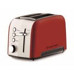 Russell Hobbs Heritage Vogue 2 Slice Toaster - RED - Modern Appliances