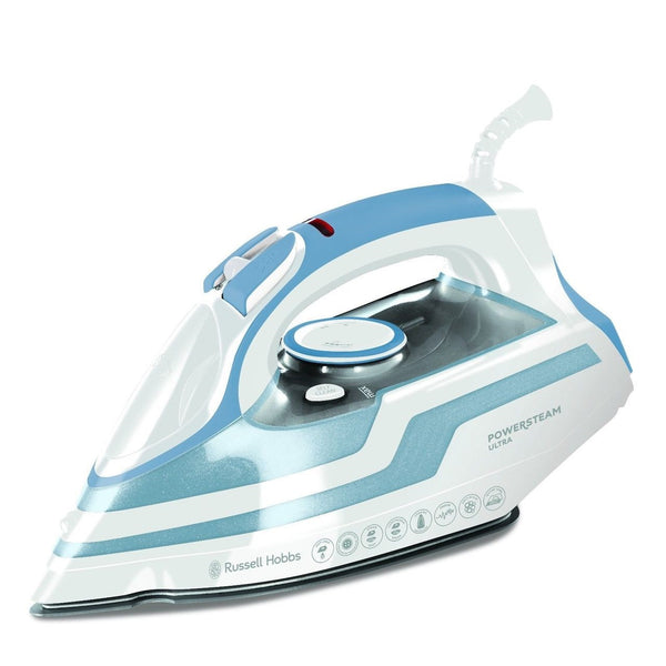 Russell Hobbs Powersteam Ultra Iron Blue - Modern Appliances