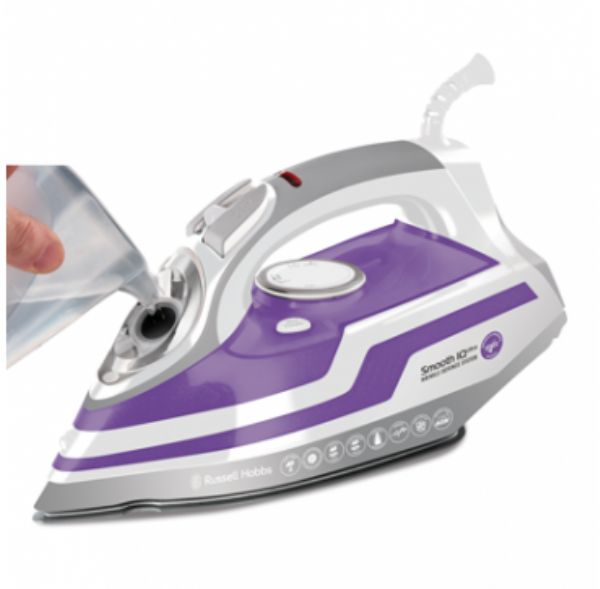 Russell Hobbs Smooth Q Ultra Steam Iron - Modern Appliances