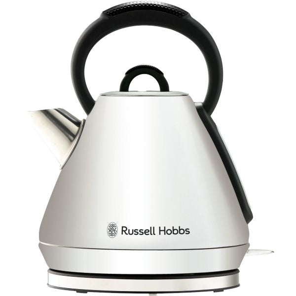 Russell Hobbs Vogue Heritage Kettle White - Modern Appliances