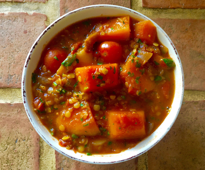 A taste of Morocco with our tantalising plant based tagine