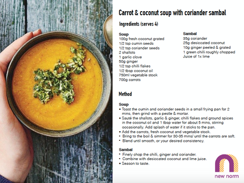 Carrot & coconut soup_recipe