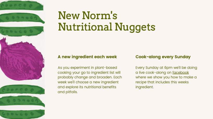 New Norms Nutritional Nuggets