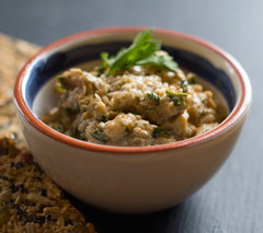 New Norm babaganoush recipe (aubergine dip)
