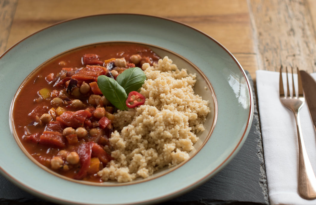 Roast Red Pepper & Chickpea Stew
