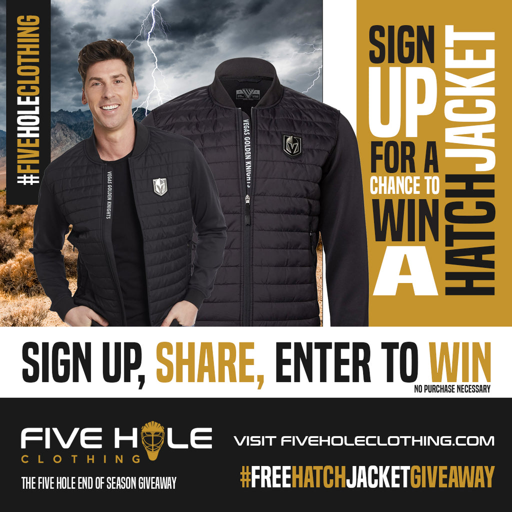 Five Hole Clothing Vegas Golden Knights Hatch Jacket Giveaway Contest