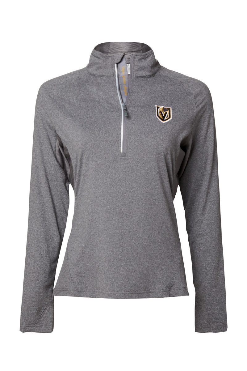 ENERGY YOGA 1/2 ZIP (WOMEN'S)-MID LAYER-LEVELWEAR-XS-CHARCOAL GREY-FiveHoleClothing.com