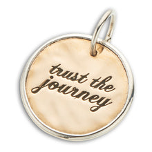 Load image into Gallery viewer, Palas Trust the journey charm