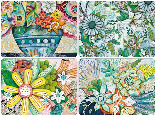 Bountiful Blooms Placemats by Allen Designs