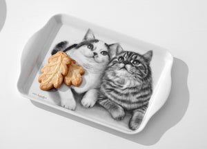Ashdene Feline Friends Scatter Tray