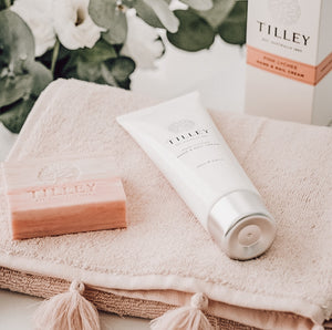 Tilley Persian Fig Deluxe Hand & Nail Cream 125mL