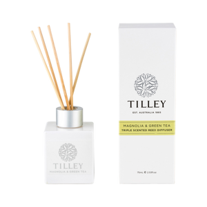 Tilley Magnolia & Green Tea Aromatic Reed Diffuser 75mL