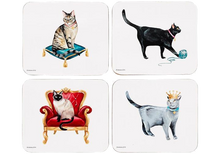 Load image into Gallery viewer, Pampered Cats Coasters