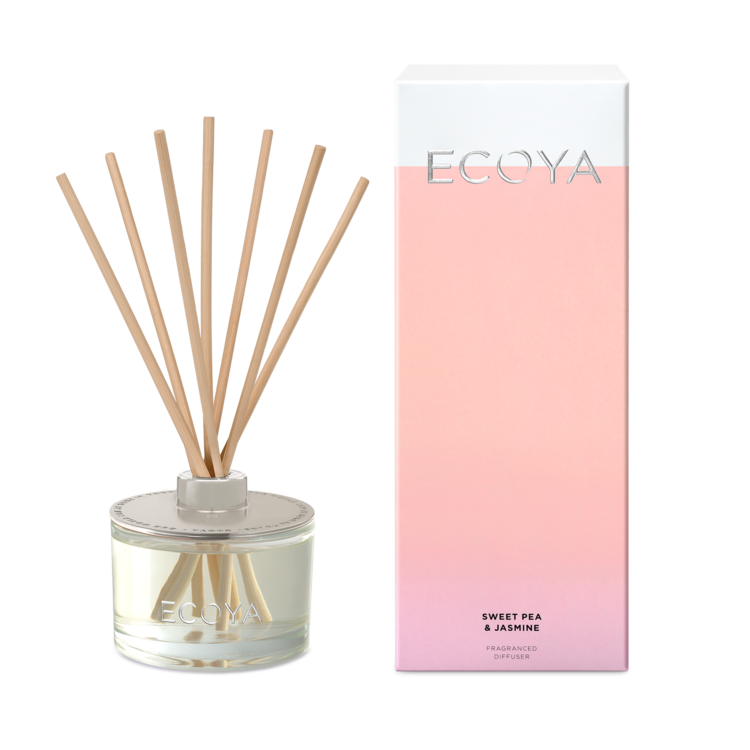 Ecoya Sweet Pea & Jasmine Fragranced Diffuser