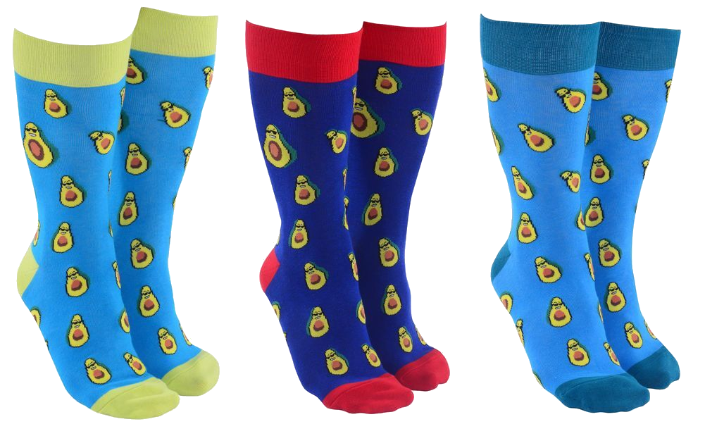 Sock Society - Avocados