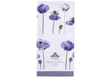 Load image into Gallery viewer, Ashdene Purple Poppies Kitchen Towel