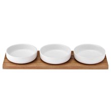 Load image into Gallery viewer, Ladelle Host Bowl and Tray Set