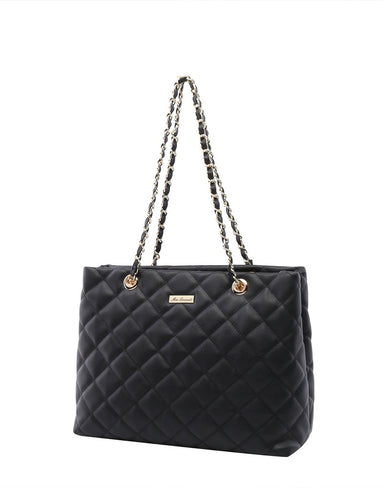 Miss Serenade Evelyn Quilted Handbag