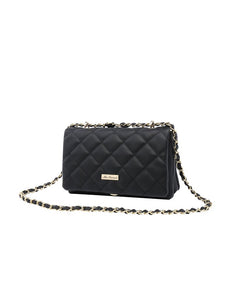 Miss Serenade Evelyn Quilted Shoulder Bag