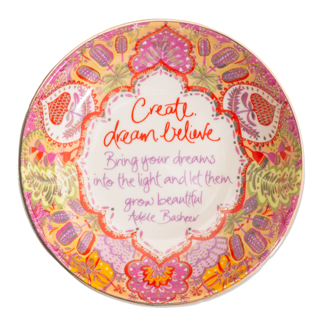 Intrinsic Create Dream Believe Trinket Dish