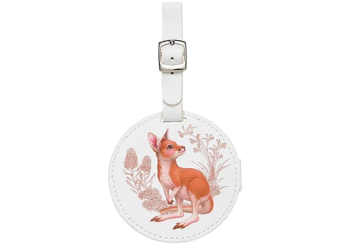 Little Aussie Friends Kangaroo Bag Tag