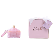 Load image into Gallery viewer, Côte Noire Art Deco Candle - Pink