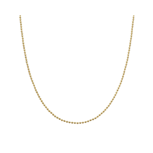 Palas Yellow Gold Plate Ball Chain