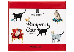 Pampered Cats Coasters