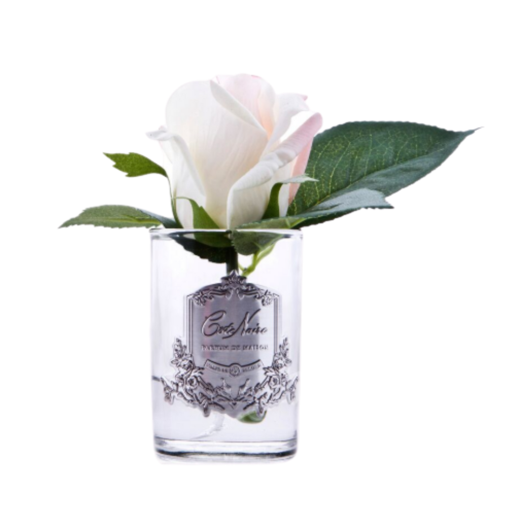 Côte Noire Perfumed Natural Touch Rose Bud in Clear - Pink Blush