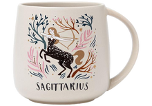 Load image into Gallery viewer, Sagittarius Stoneware Mug & Coaster Set