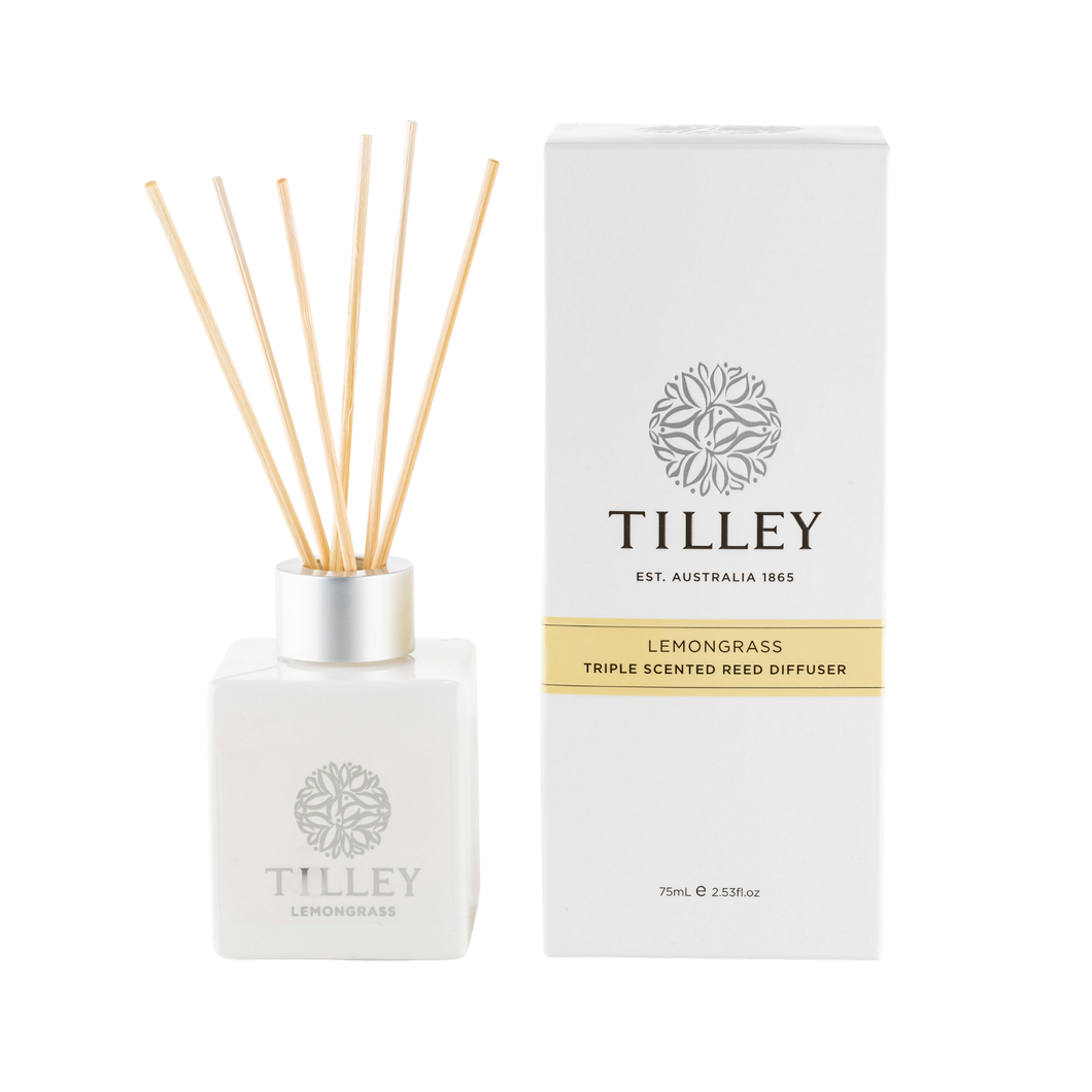 Tilley Lemongrass Aromatic Reed Diffuser 75mL