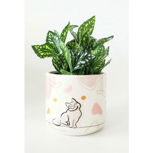 Linear Cat Planter