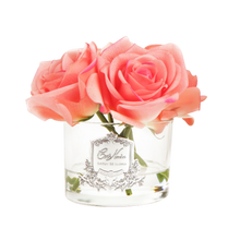 Load image into Gallery viewer, Côte Noire Perfumed Natural Touch 5 Roses in Clear - White Peach