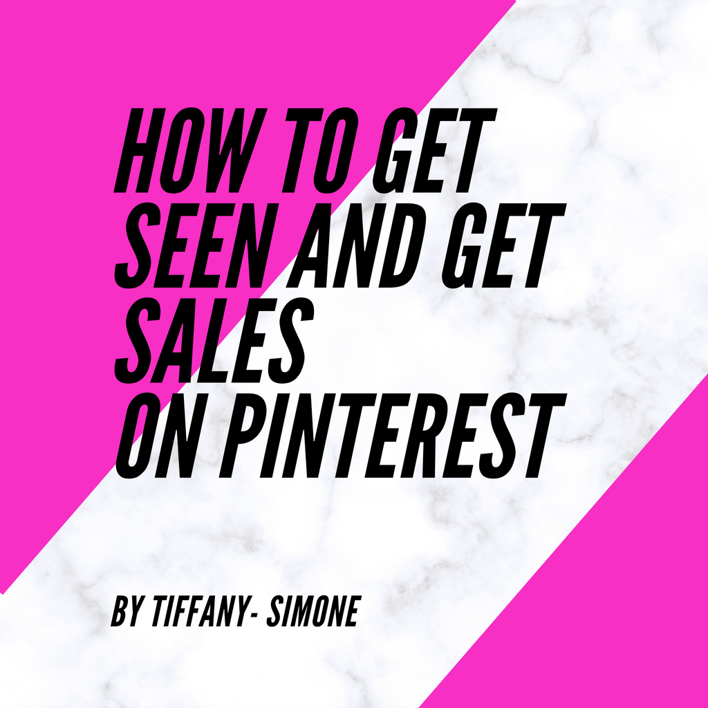 How To Get Seen And Get Sales On Pinterest-Ebook-Different Type Of Dope