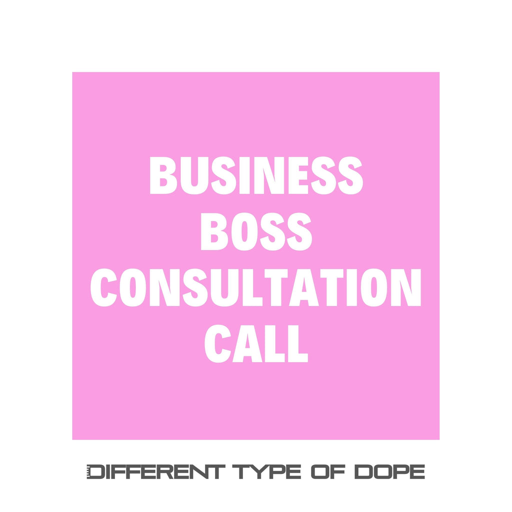 Business Boss Consultation Call-services-Different Type Of Dope
