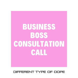 Business Boss Consultation Call