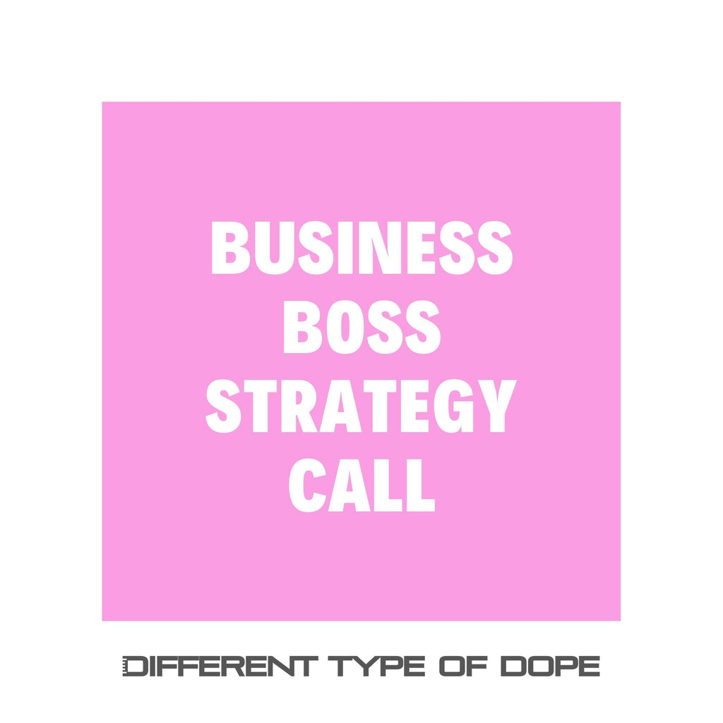 Business Boss Strategy Call-Services-Different Type Of Dope