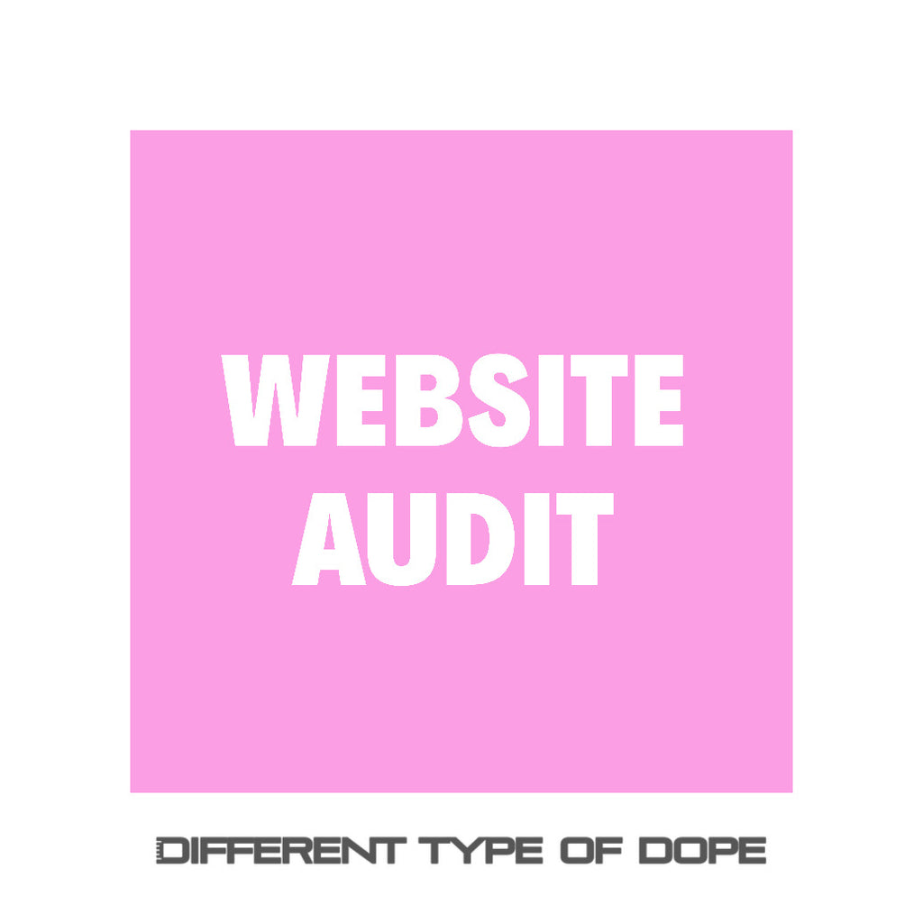 Website Audit-Services-Different Type Of Dope