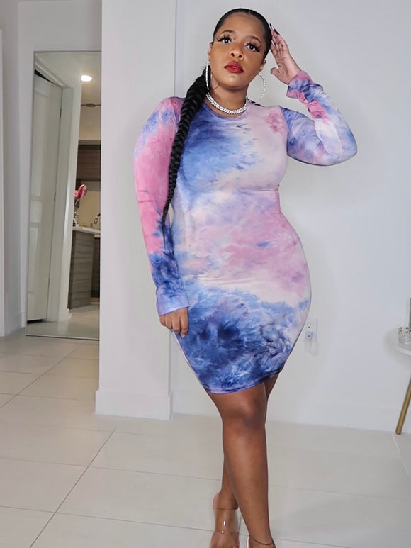 The Cotton Candy Bodycon Dress-Different Type Of Dope