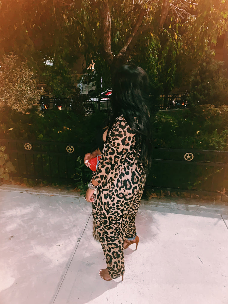 Ain't No Cheetah Kimono-Apparel-Different Type Of Dope