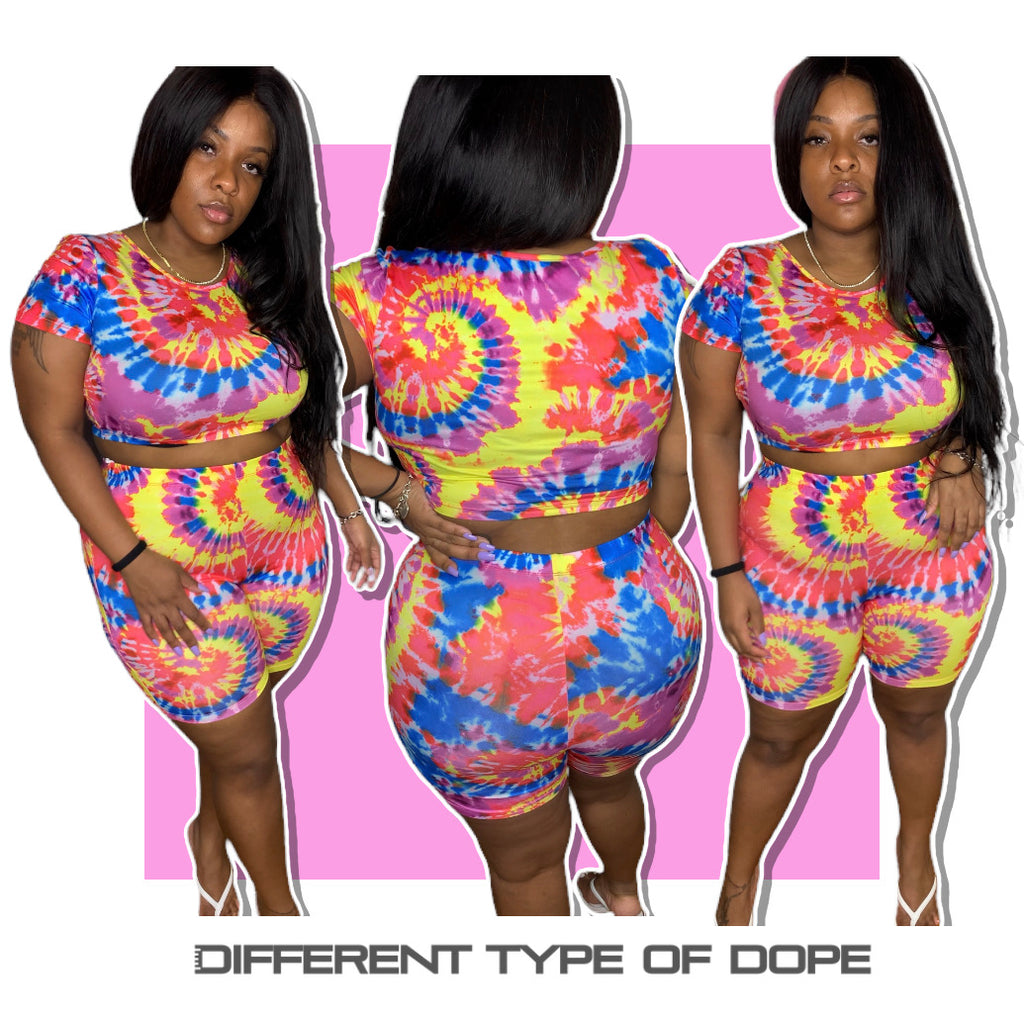 Tie Die For Two Piece Set