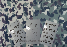 Load image into Gallery viewer,  Blackjax Camouflage Stencils
