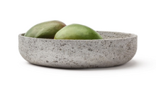 Load image into Gallery viewer, VVD pottery 30cm muschelkalk stone 7cm high/ lid 2cm walnut