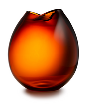 Load image into Gallery viewer, Rock vase cognac