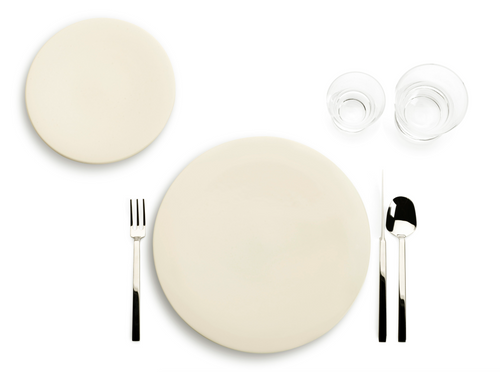 Tableware large plate - set of 4 pieces