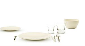 NEW  Tableware medium plate - set of 4 pieces