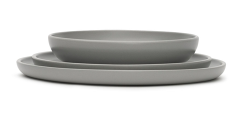 Tableware VVD - set grey dinnerware