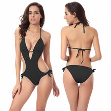 Women's Sexy Padded One Piece Pool Party Swimsuit - Paradise Daze