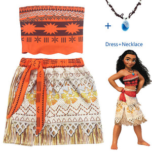 Moana Style Set & Necklace - Paradise Daze